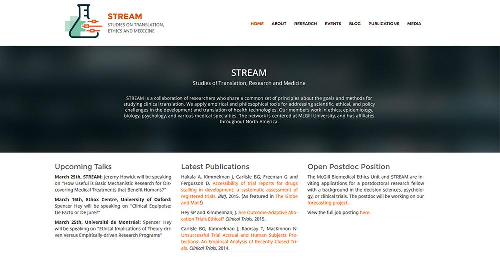 STREAMWebPage