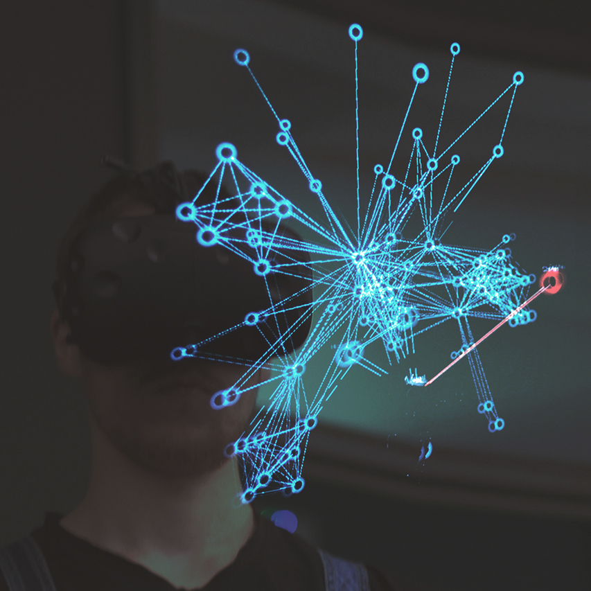 Virtual Reality Network Visualization